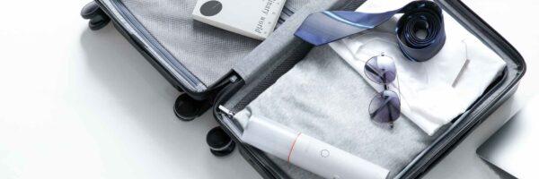 En støvsuger i tasken